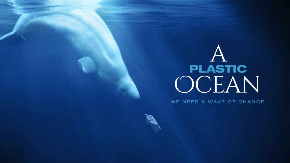 Poster for the film A Plastic Ocean